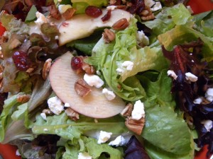 Sweet Salad with Balsamic Fig Dressing
